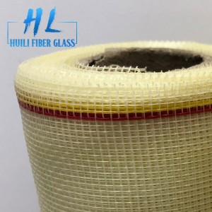 17*14 Ivory Color 110g Fiberglass Mosquito Net to Indian Market