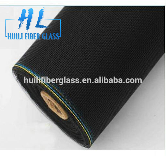 Fire proof fiberglass fly mesh insect protection window screen