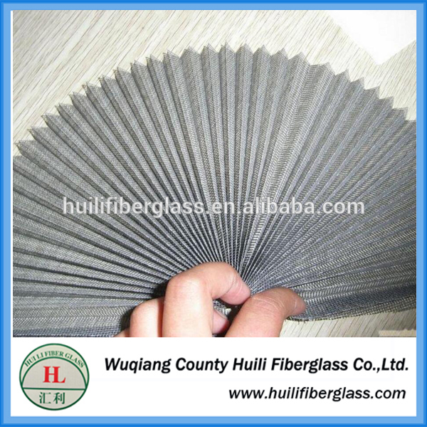 Fire Proof Pleated Invisiable fiberglass Window Fiberglass Insect Screen