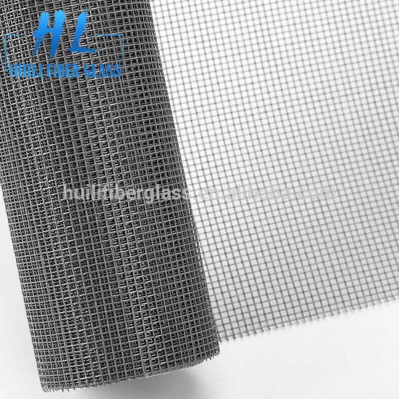 Fire Proof Pleated Invisible Plastic Coated Window Fiberglass Insect Screen