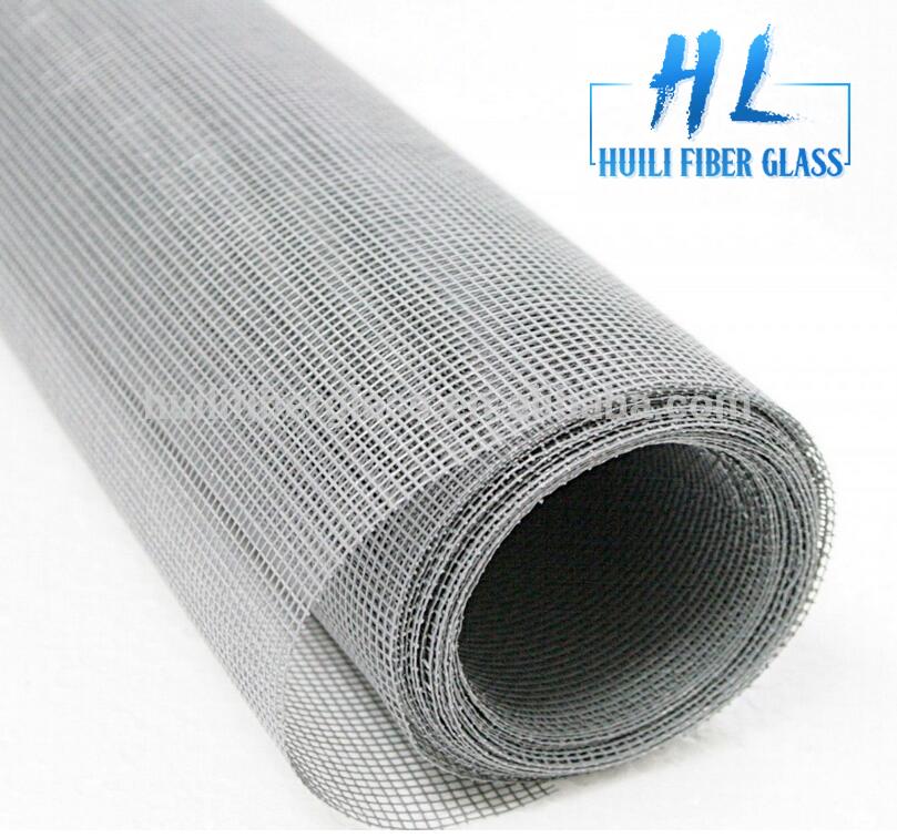 Fire resistant fiberglass fly mesh /120g 18*16 fiberglass window screen