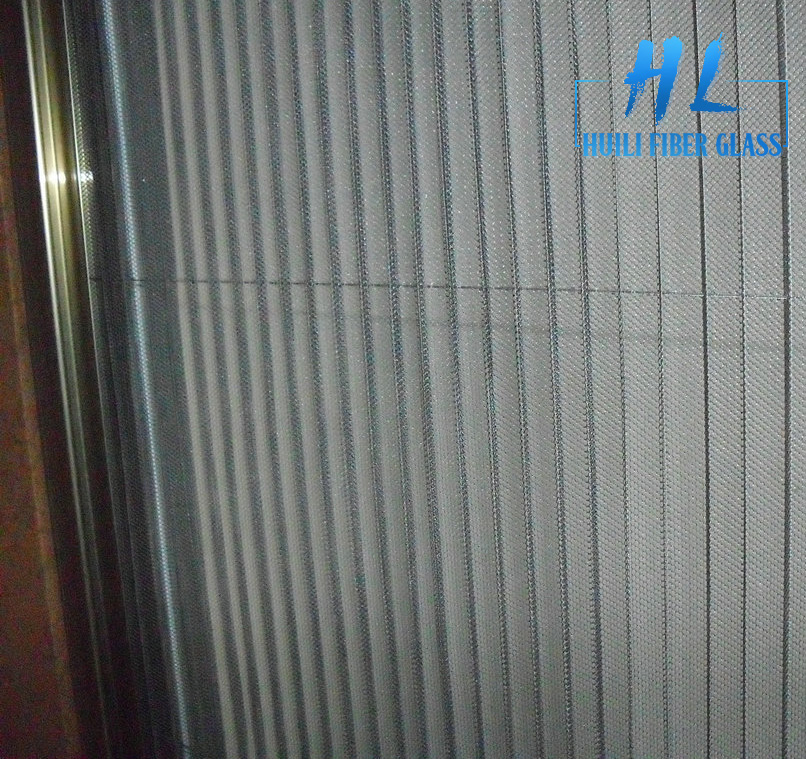 Folding insect screen door/ Pleated screen door/pleated fly screen