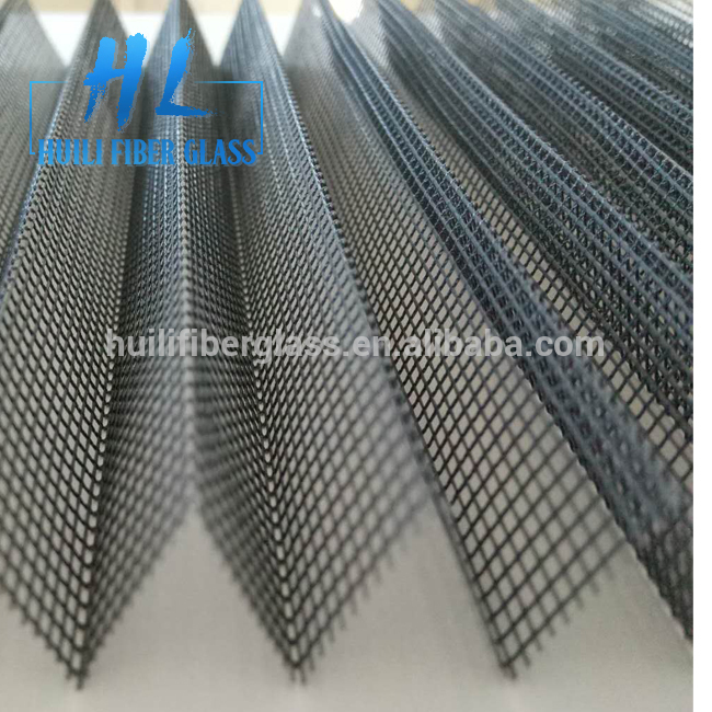 High Quality Պոլիեսթեր plisse Էկրանի / միջատ Proof Pleated Window Screen