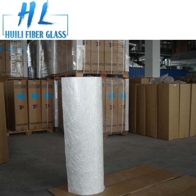 Hot salmenta kalitate handiko hauts edo emultsio fiberglass choppedstrand txalupa eraikitzeko esterilla