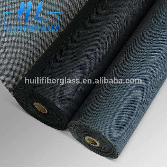 Huili 20*20 fiberglass insect screen/fly screen/fiber glass window screen mesh