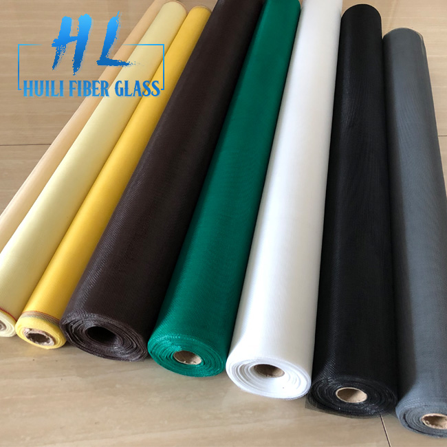 Huili Best price fiberglass insect screen for window / mosquito nets for window screen