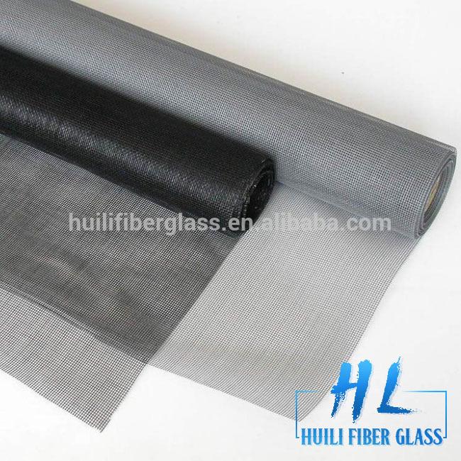 Huili Brand 120g 18*16 fiberglass window screen/fiber wire mesh