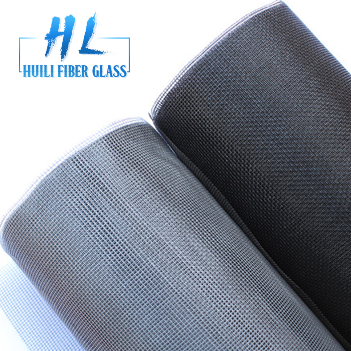 Huili Brand Phifer quality 18×16 Fiberglass Fly Insect Screen Supplier