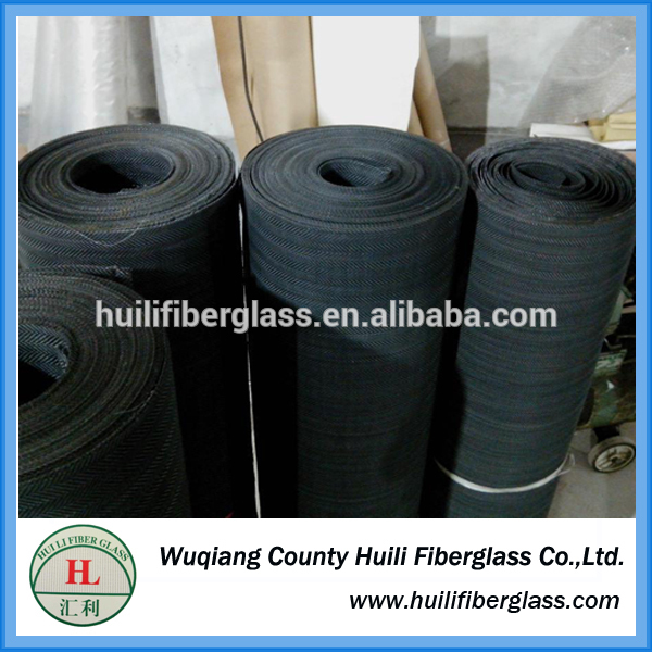 Huili hot sale factory price insect screen/fly screen/colored fiberglass window screens