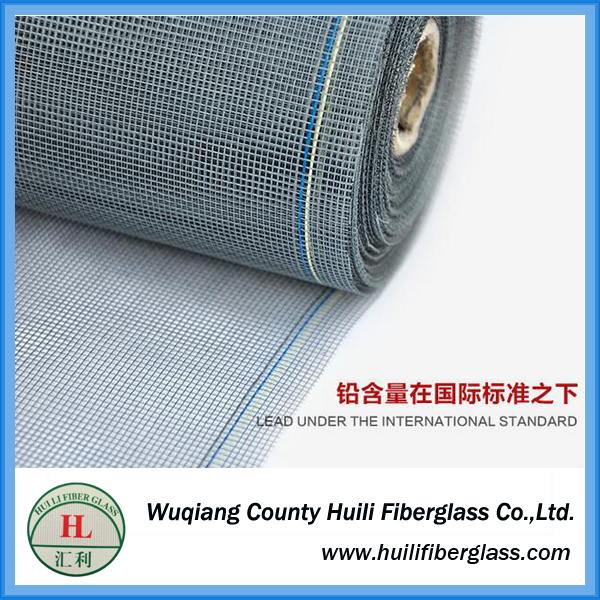 Lowest price 2018 Fireproof Fiberglass insect screen/ polyester ...