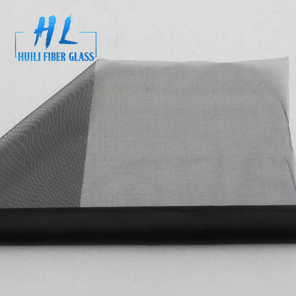 New 36 in. x 100 ft. Charcoal Fiberglass Insect Screen