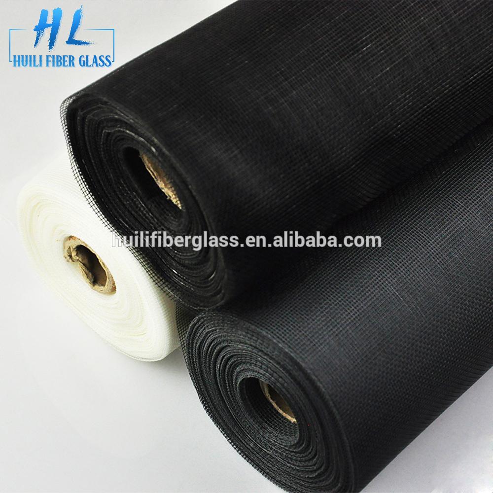 one way vision window screen 16*18 mesh 30m roll black fiberglass screening