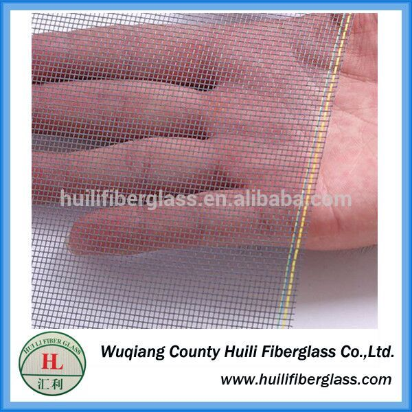 one way vision window screen/fiberglass window screen insect nets by huili factory