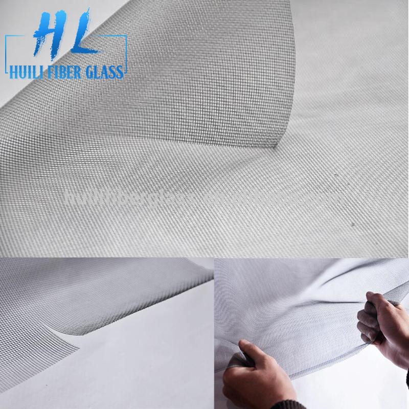 Гладкая стекловолокна экран окна насекомых / прозрачный экран окна стекловолокна / москитные сетки