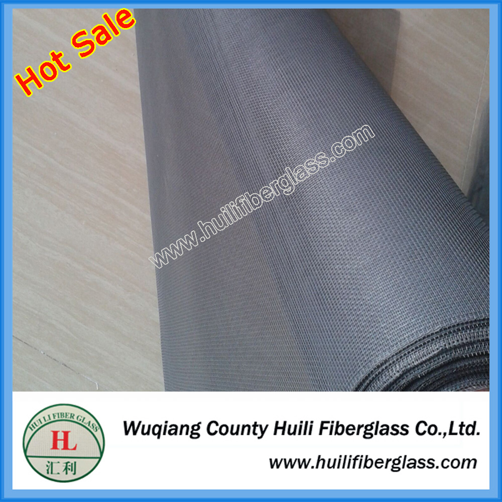 Plain woven fiberglass insect screen mesh for patio and pool enclosure
