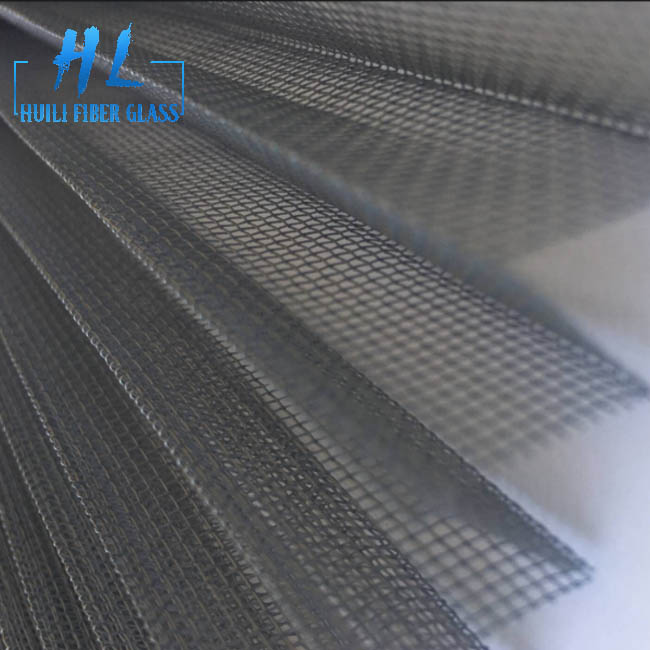 Waterproof Plisse Insect Screen/Polyester Pleated mesh Featured Image