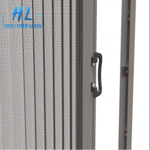 Waterproof Plisse Insect Screen/Polyester Pleated mesh