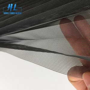 Top Quality Gray Color Fiberglass Plisse Insect Screen. Pleated WindowScreen Folding Insect Mesh