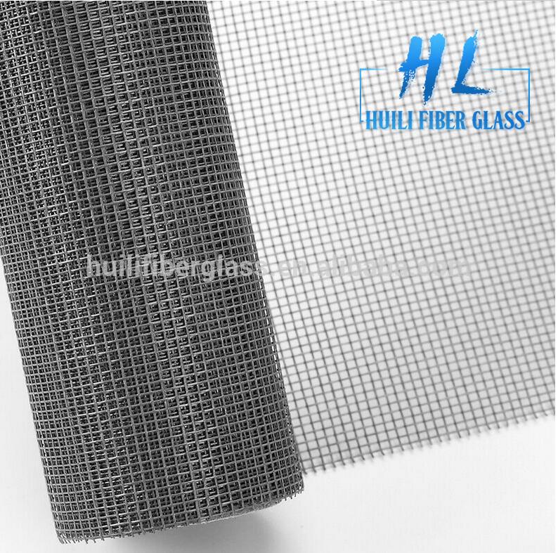 PVC jas plain Weave glêstried finster skerm út Hebei fabryk