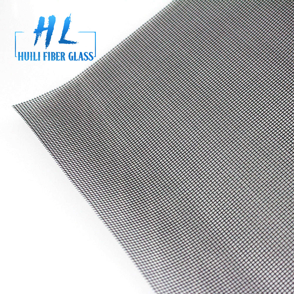 pvc coated fiberglass fly screen mesh roll