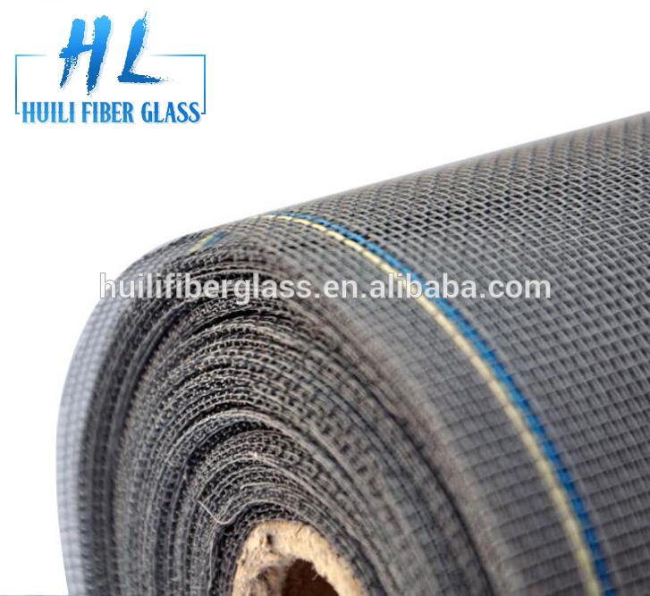 Pvc coated fiberglass mosquito net windows wuqiang factory