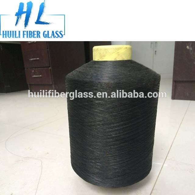 PVC coated glass fiber yarn fiberglass window screen