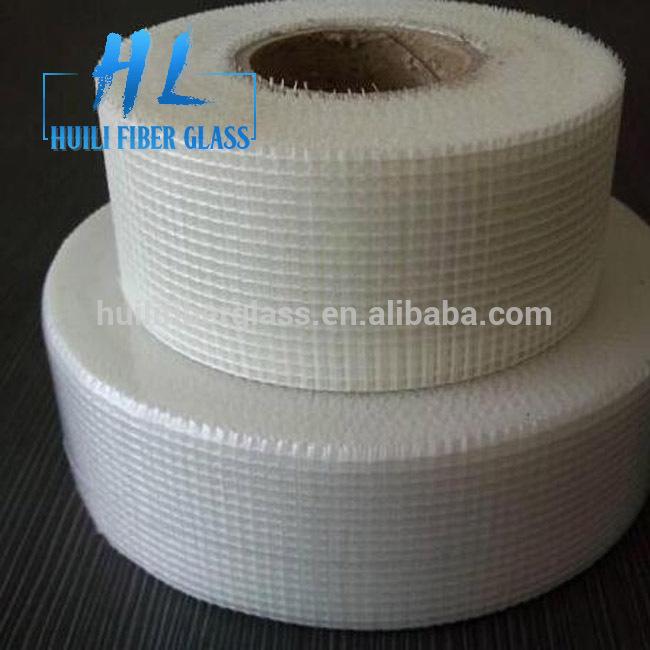 self adhesive fiberglass scrim cloth drywall joint mesh tape 2×65′(50mmx20m)