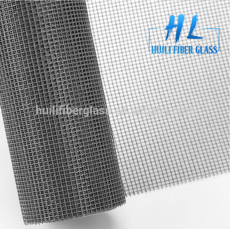 silver grey 18×16 fiberglass insect screen fiberglass mosquito net screen fiberglass window screen