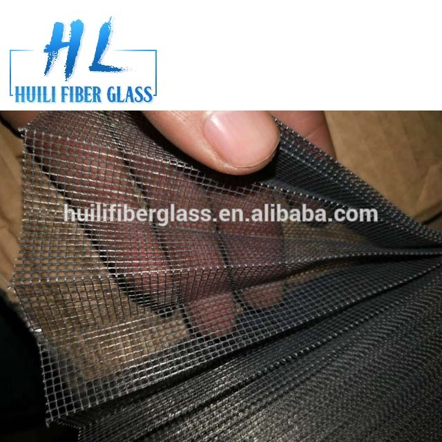 Top Quality Gray Color Fiberglass Plisse Insect Screen Pleated WindowScreen Folding Insect Mesh
