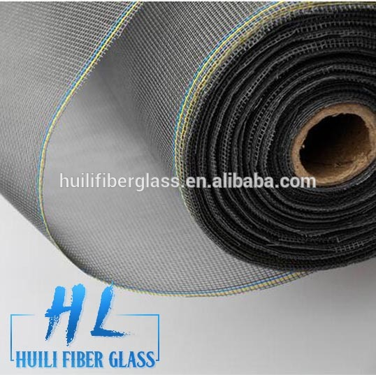 Turkey market most popular color coated fiberglass insect window screen mesh