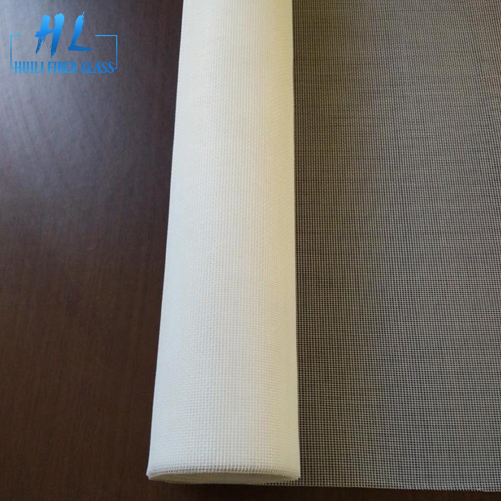 white fiberglass insect screen