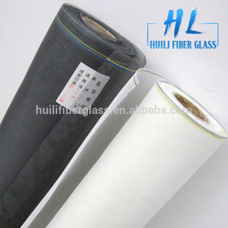 Hvide glasfiber vindue skærmen glasfiber insektnet mesh ruller 100g 110g 120g 130g 140g