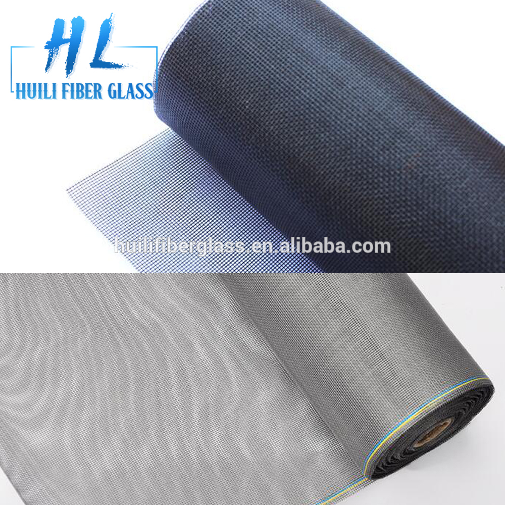 White fiberglass window screen/fiberglass one way vision window mesh