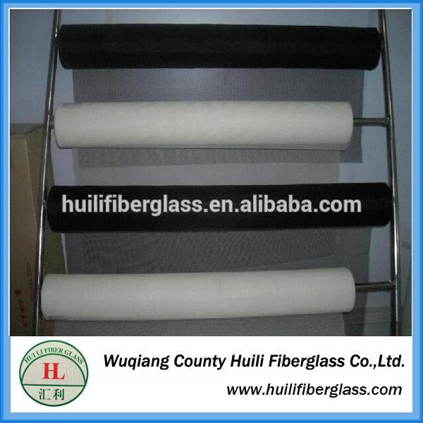 White/Grey/Black high quality 14×17 Fiberglass Window Screen /fiber glass mesh netting /mosquito insect netting